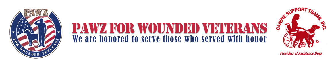 PAWS For Wounded Veterans
